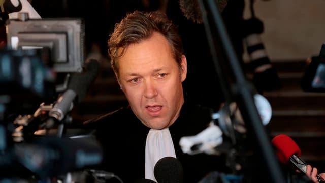 Sylvain Cormier, avocat de Karim Benzema
