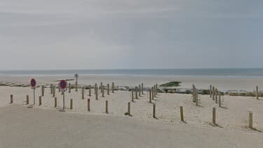L'océan Atlantique vu depuis Saint-Hilaire-de-Riez