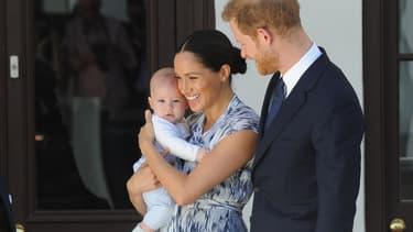 Harry, Meghan et Archie en Afrique du Sud en septembre 2019