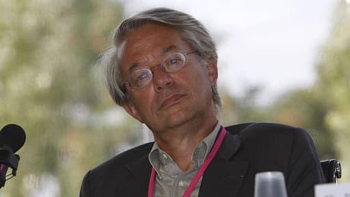 Philippe Marini, actuel président UMP de la commission des finances du Sénat, le 2 septembre 2009
