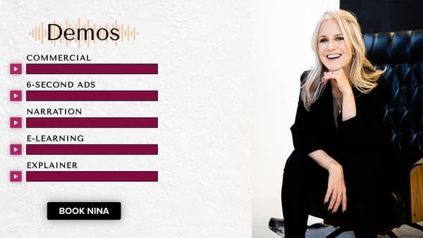 Nina Rolle, la voix officielle d'Alexa dans sa version anglophone