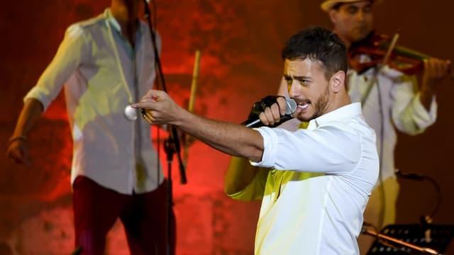 Le chanteur marocain Saad Lamjarred