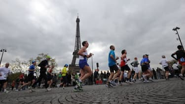 Une course à pieds à Paris (photo d'illustration).