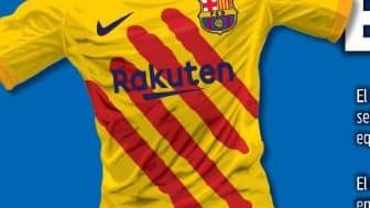 Nouveau maillot Barça