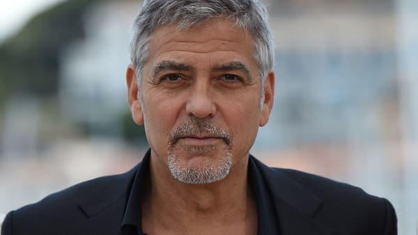 George Clooney, au festival de Cannes, le 12 mai 2016.