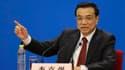 Lors de sa première conférence de presse en tant que chef du gouvernement en clôture de la session annuelle de l'Assemblée populaire nationale, le nouveau Premier ministre chinois, Li Keqiang, a érigé dimanche la croissance économique en priorité de son a