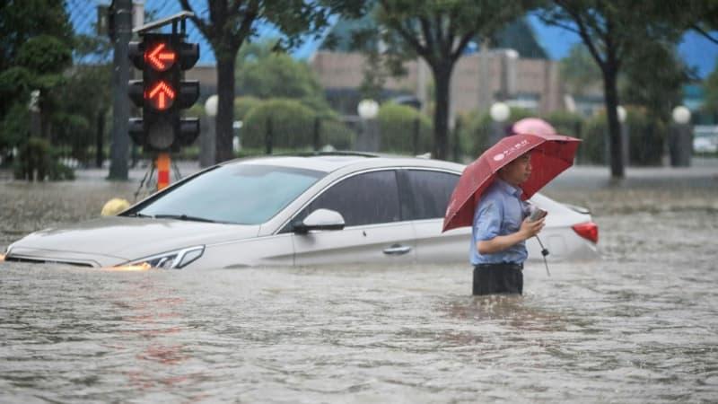 Inondations en Chine: un nouveau bilan fait été de 33 morts et 8 disparus