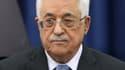 """Le président palestinien Mahmoud Abbas, ici le 23 avril à Ramallah, a qualifié dimanche l'holocauste de """"crime le plus odieux"""" de l'ère moderne."""