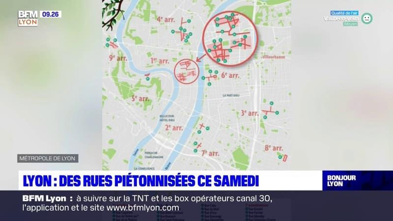 Lyon: une nouvelle expérimentation de la piétonnisation samedi