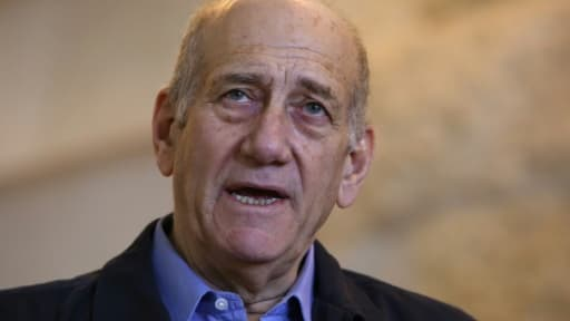 L'ancien Premier ministre israélien, Ehud Olmert, le 29 décembre 2015