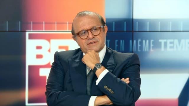 L'avocat Hervé Temime sur le plateau de BFMTV.