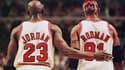 Michael Jordan et Dennis Rodman en 1998