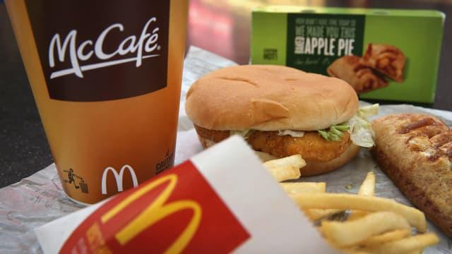 Les menus à petits prix parviennent à doper la fréquentation des restaurants McDonald's. (image d'illustration)