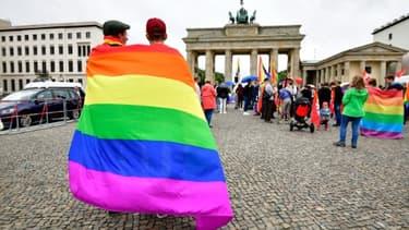 Rassemblement LGBT, le 30 juin 2017 à Berlin