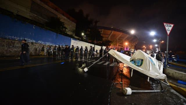Un samedi soir de drame à Tegucigalpa.