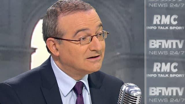 Hervé Mariton sur BFMTV/RMC vendredi 18 mars 2016.