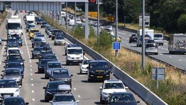 Une autoroute (photo d'illustration) - MEHDI FEDOUACH / AFP