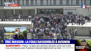 """Policier tué à Avignon: """"Les collègues sont effondrés et ne comprennent pas"""", rapporte Olivier Varlet (UNSA Police)"""