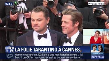 La folie Tarantino à Cannes