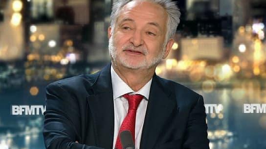 Jacques Attali sur le plateau de BFMTV, mercredi 27 août.