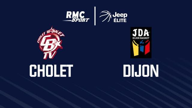 Cholet Dijon Jeep Elite 22e joruéne