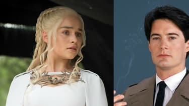 "Emilia Clarke de ""Game of Thrones"", Kyle MacLachlan de ""Twin Peaks"" et Gérard Depardieu de ""Marseille""."