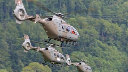 C'est ce type d'hélicoptères, ici utilisée par la Croix Rouge, qu'Eurocopter va livrer à Aviators India