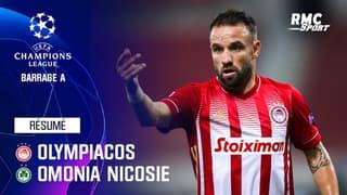 Résumé : Olympiacos 2-0 Omonia Nicosie - Ligue des champions Barrage aller