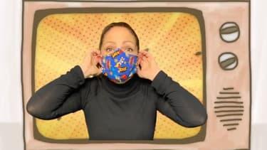 Gloria Estefan dans le clip publié sur Instagram pour inciter les gens à porter un masque.