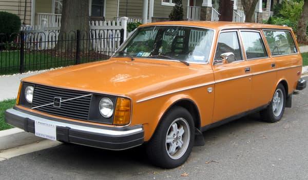Le 245 est l'un des modèles les plus emblématiques de Volvo.