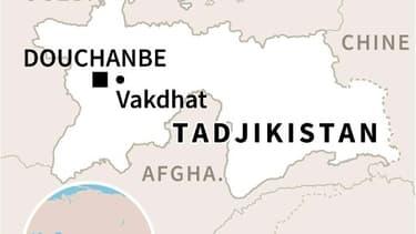 Localisation de Vakhdat où une émeute de prisonniers jihadistes a fait 32 morts