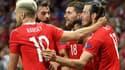 La joie de Ramsey et Bale