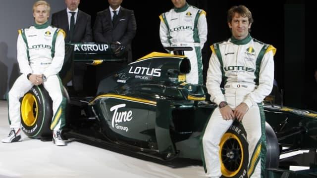 L'équipe Lotus