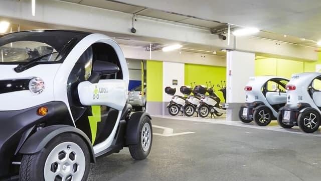 La flotte de véhicules électriques de Wattmobile