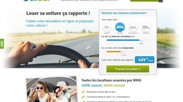 Un particulier peut louer sa voiture jusqu'à 40 euros par jour.