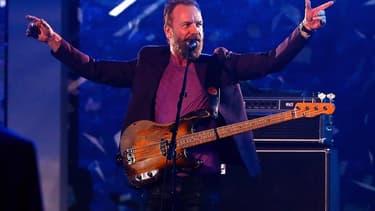Le chanteur Sting en concert à Toronto en février 2016
