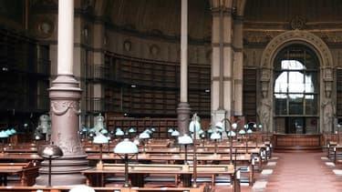 La plus grande bibliothèque de France ouvrira les salles de lecture de son Haut-de-jardin jusqu'à22h.