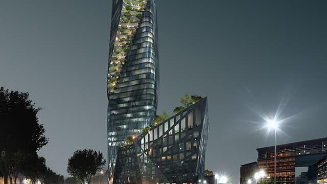 Feu vert pour la construction controversée d'une tour de plus de 150 mètres