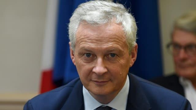 Bruno Le Maire à Saint-Germain-en-Laye le 16 septembre 2021
