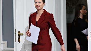 Mette Frederiksen le 12 mai 2020.