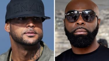 Booba et Kaaris - Images d'illustration - AFP