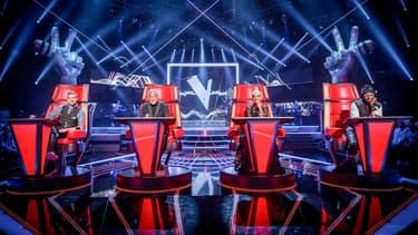 Le jury de l'émission The Voice UK