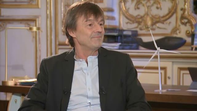 Nicolas Hulot dans son ministère le 25 janvier 2018