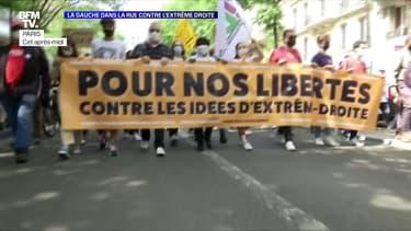 La gauche dans la rue contre l'extrême droite - 12/06