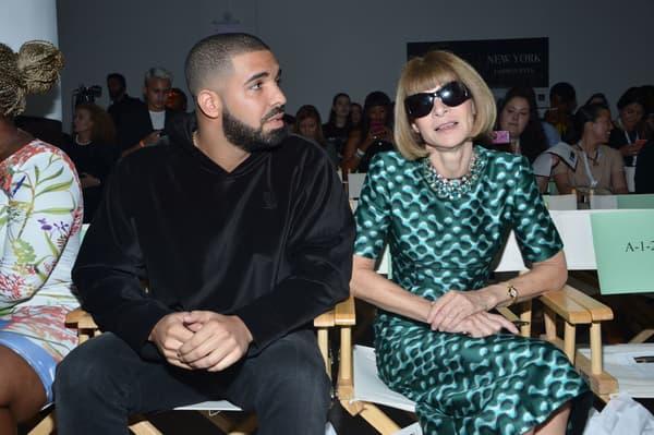 Drake et Anna Wintour