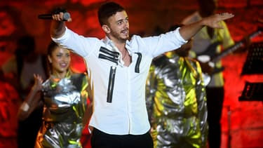 Saad Lamjarred en concert au Festival International de Carthage en 2016