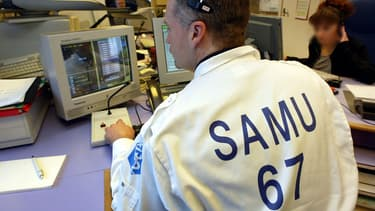Le Samu de Strasbourg victime d'appels malveillants. (Photo d'illustration)