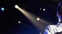Liam Payne sur scène avec les One Direction en décembre 2015