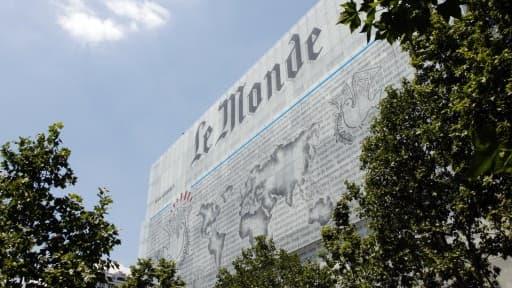 Le quotidien Le Monde a perdu environ 2 millions d'euros en 2013.