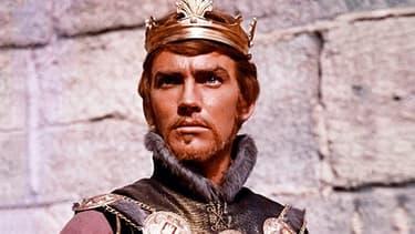 """L'acteur John Fraser dans """"Le Cid"""", en 1961."""